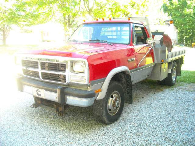 1993 dodge ram w350 cummins diesel 4x4 5speed for sale photos technical specifications. Black Bedroom Furniture Sets. Home Design Ideas
