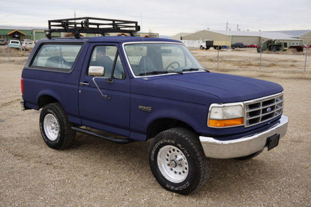 1993 Ford Bronco Bronco Custom