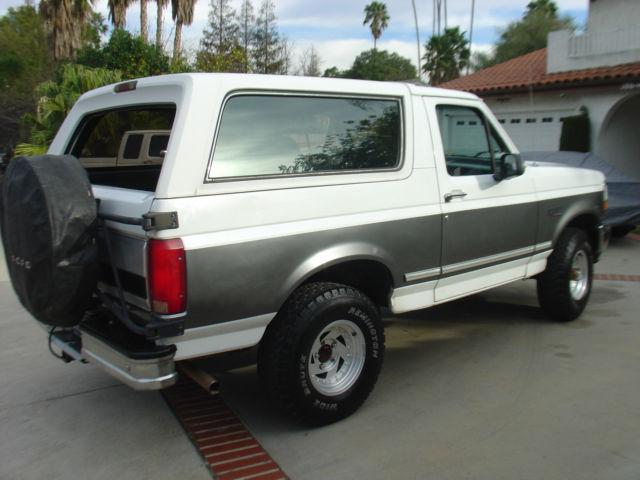 1993 Ford Bronco XLT 1992 1994 1995 1996 for sale: photos ...
