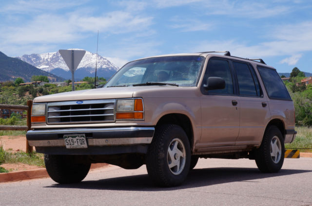 Used Tires Colorado Springs >> 1993 Ford Explorer Limited Sport Utility 4-Door 4.0L for ...