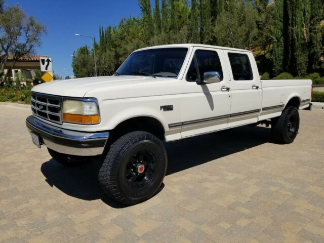 1993 Ford F-350 1-OWNER 4X4 CREW CAB 144K ORIG MILES CALIF.TRUCK