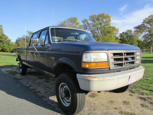 1993 ford f 350 xl crew cab long bed 4x4 f350 xl f350 92 94 95 96 97