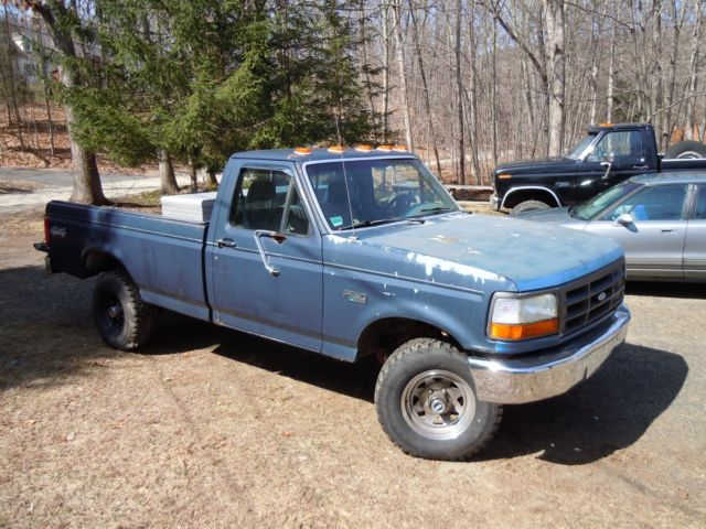 Ford F X Long Bed Pickup For Parts