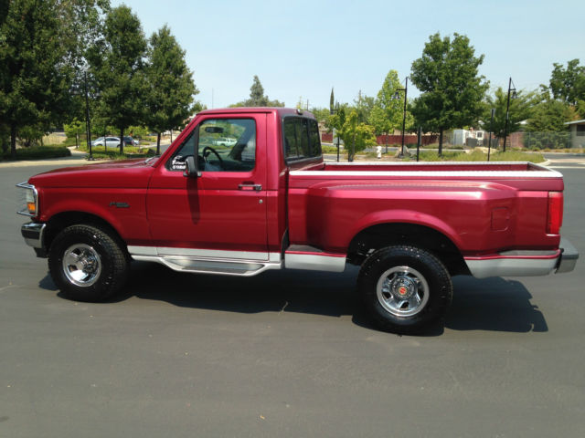 1993 ford f150 flare side 4x4 rust free low miles for sale photos technical specifications. Black Bedroom Furniture Sets. Home Design Ideas