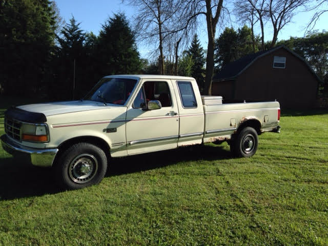 Ford F250 8 Foot Bed For Sale >> 1993 Ford F250 Xlt Extended Cab 8 Foot Full Sized Bed W