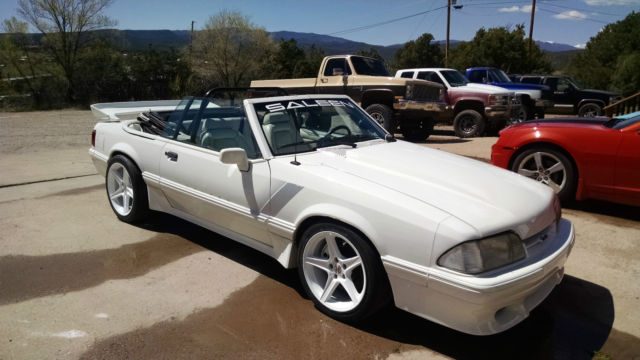 1993 ford mustang lx convertible saleen clone for sale photos technical specifications. Black Bedroom Furniture Sets. Home Design Ideas