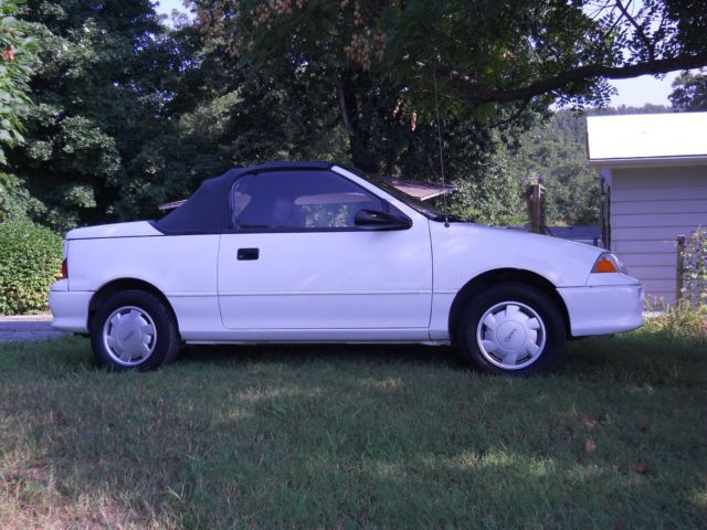 1993 Geo Metro Specs 1 - Geo Metro Convertable In Time For Summer Fun - 1993 Geo Metro Specs 1