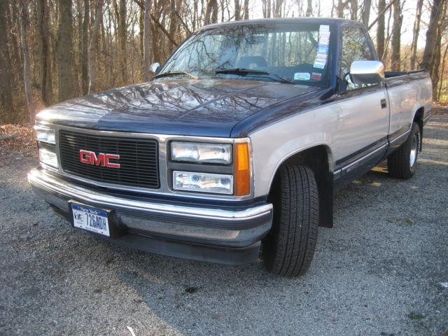 1993 gmc sierra sle 1500 chevrolet silverado for sale photos technical specifications. Black Bedroom Furniture Sets. Home Design Ideas