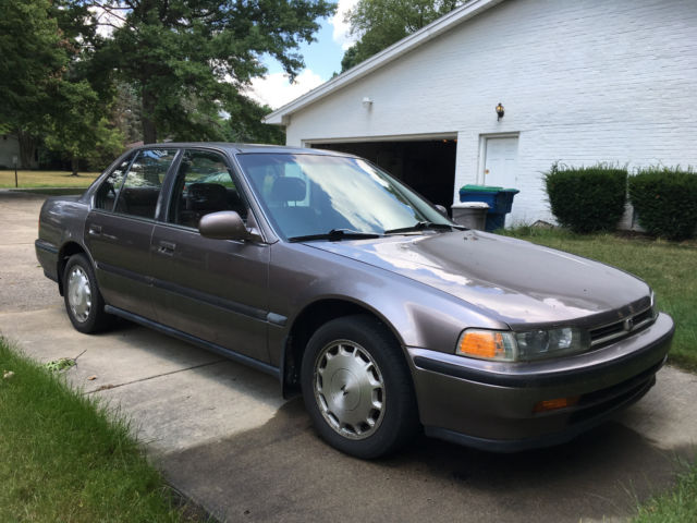 1993 honda accord ex  5 speed manual for sale photos
