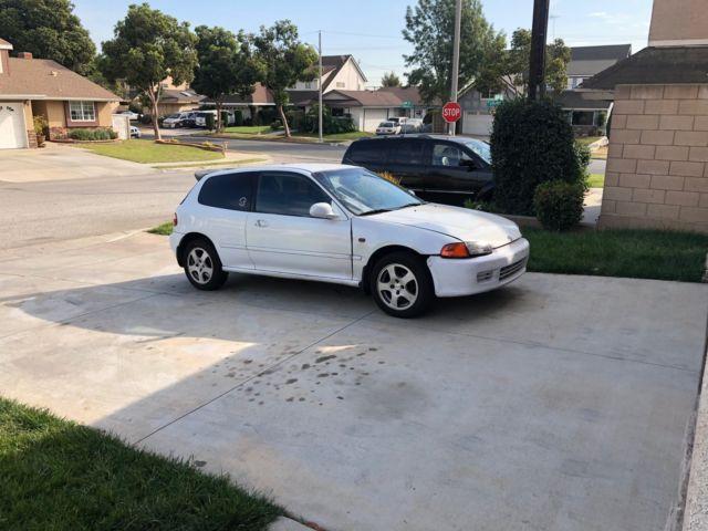 1993 honda civic cx hatchback engine