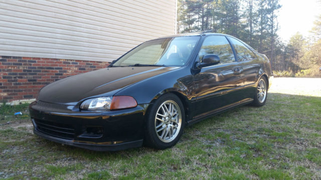 1993 Honda Civic EX Coupe B16A2 Turbo for sale photos technical