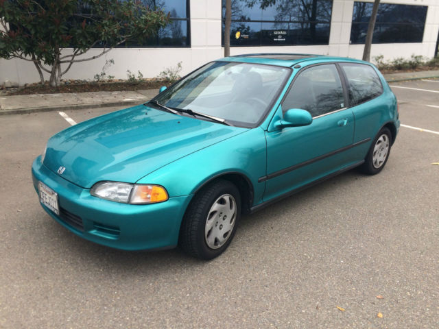 1993 honda civic si hatchback 5 speed 1 owner original for for 1993 honda civic window trim