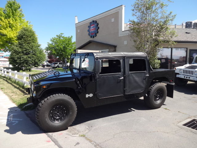 1993 Hummer H1 Military Humvee Truck 6 2l Diesel 4x4 For