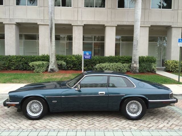 1993 jaguar xjs 4 0 coupe low miles garage kept books records showroom condition for sale
