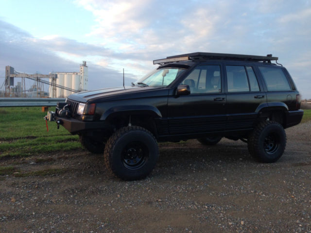 1993 jeep grand cherokee limited 4x4 lifted for sale photos technical specifications description. Black Bedroom Furniture Sets. Home Design Ideas