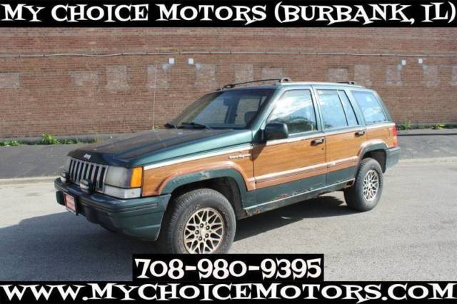 1993 Jeep Grand Wagoneer Base 4dr 4WD SUV SUV 4-Door Automatic 4-Speed