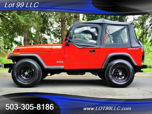 1993 Jeep Wrangler 4 Cylinder  NEW CLUTCH 5 Speed 5 Speed