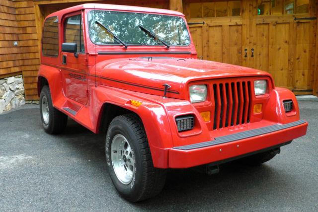 1993 jeep wrangler renegade 35 000 mile garage kept survivor for sale photos technical. Black Bedroom Furniture Sets. Home Design Ideas