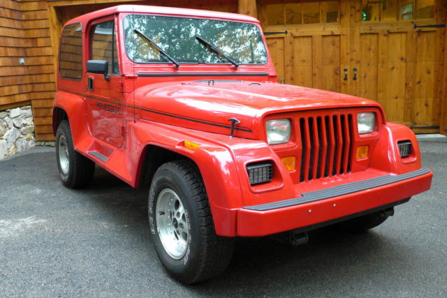 1993 Jeep Wrangler Renegade - 35,000 mile - Garage Kept ...