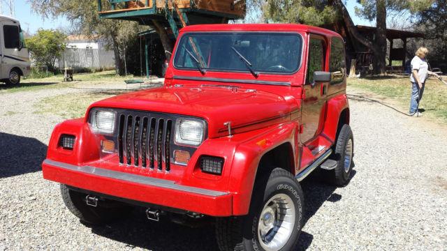 1993 Jeep Wrangler Renegade Yj For Sale Photos Technical