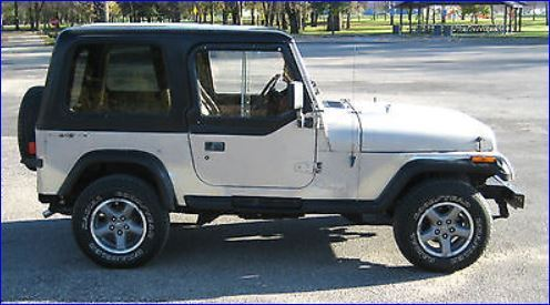 1993 Jeep Wrangler YJ, 4.0 High Output 6-Cyl., 5-Speed ...