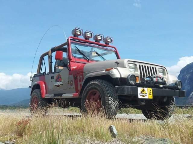 1993 Jurassic Park Jp12 Jeep Wrangler Yj Sahara 6 Cyl 4