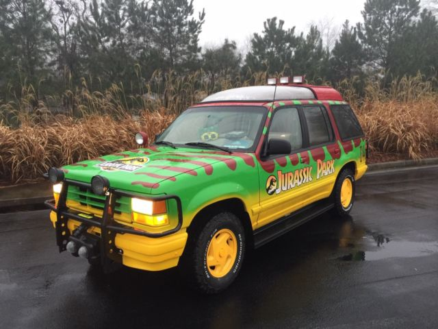 1993 jurassic park touring ford explorer for sale photos technical specifications description. Black Bedroom Furniture Sets. Home Design Ideas