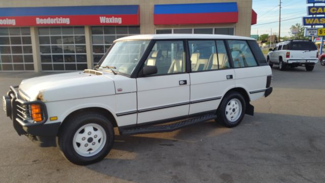 19930000 Land Rover Range Rover 4dr Wagon Co