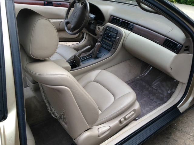 1993 lexus sc400 gold with tan leather interior 7500 for sale photos technical for Texas leather interiors prices
