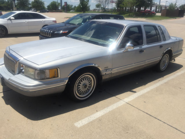 1993 Lincoln Town Car Cartier Edition Estate Sale Purchase For