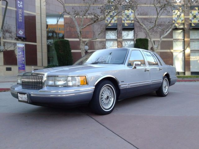 1993 Lincoln Town Car Cartier Edition