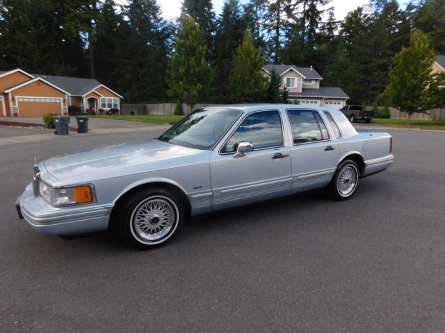 1993 Lincoln Town Car Ford Lincoln Mark Executive