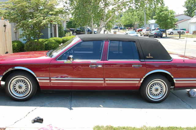 1993 Lincoln Town Car No Reserve For Sale Photos Technical