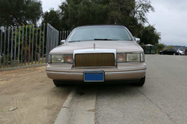 1993 Lincoln Town Car Presidential Town Sedan For Sale Photos