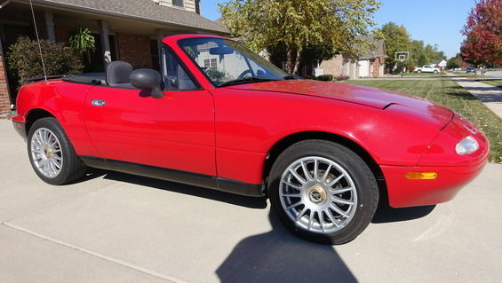 1993 Mazda MX-5 Miata Roadster Convertible