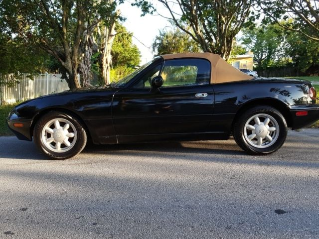 Mazda Mx Miata Speed Manual Convertible Black Tan