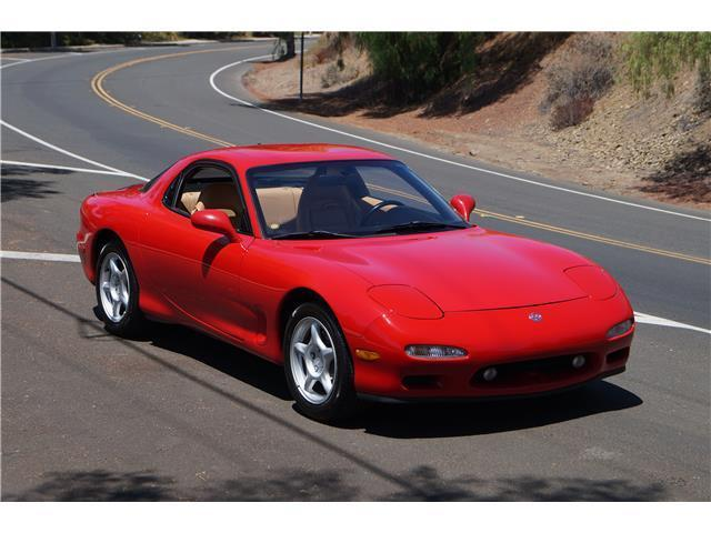 1993 mazda rx 7 45 390 miles red rotary engine 1 3l 80 manual for rh topclassiccarsforsale com  1993 mazda rx7 manual
