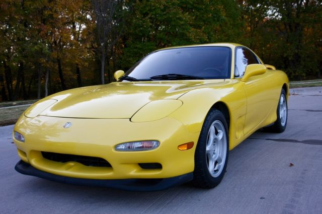 Mobil 1 Oil Filter >> 1993 Mazda RX7 R1 Competition Yellow Mica for sale: photos ...