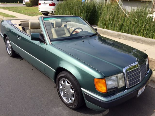 1993 mercedes benz 300ce cabriolet convertible clean