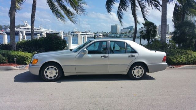 1993 mercedes benz s class s350 diesel sedan two owner for What is the maintenance cost for mercedes benz