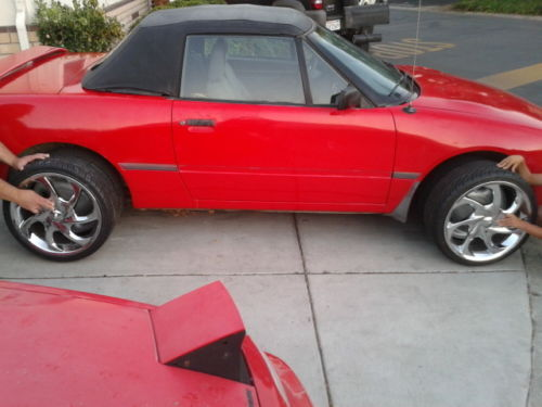 1993 Mercury Capri XR2 Convertible 2-Door