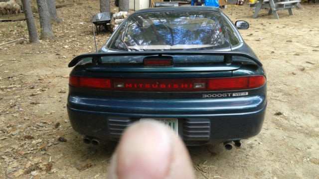 1993 Mitsubishi GT3000 VR4 Twin Turbo for sale photos technical