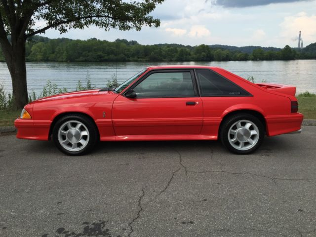 1993 Ford Mustang Mustang Cobra SVT not shelby