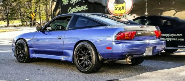 1993 nissan 240sx s13 rb25 neo w 350z 6 speed for sale photos technical specifications. Black Bedroom Furniture Sets. Home Design Ideas