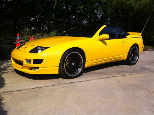 1993 Nissan 300zx Convertible Twin Turbo Conversion
