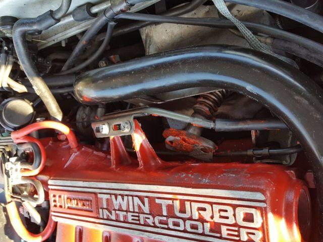 1993 Pearl White Black Interior 3000GT VR4 Twin Turbo All