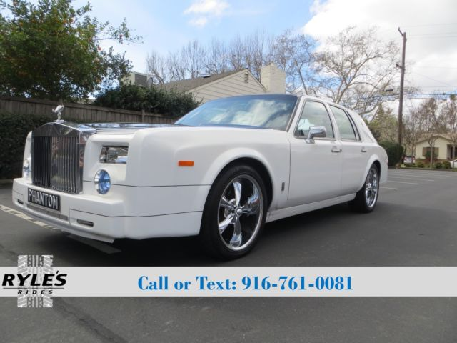 1993 Rolls Royce Phantom Kit Car Lincoln Town Car For Sale