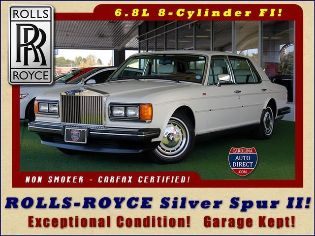 1993 Rolls-Royce Silver Spirit/Spur/Dawn EXCEPTIONAL CONDITION - GARAGE KEPT!