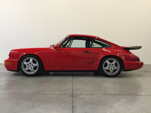 1993 Porsche 911 RS America Coupe 2-Door