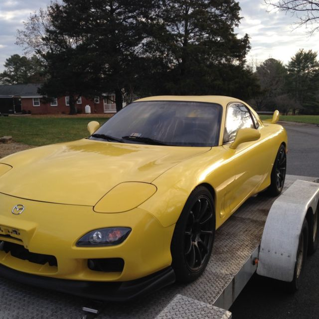 7acd90ee85d4 1993 RX-7 CYM Rare Yellow Mazda R1 Turbo Excellent Cond